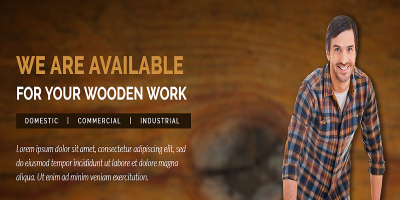 Wood Workshop - Carpenter and Craftman HTML Template
