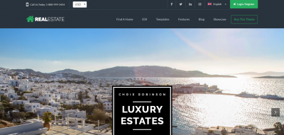 WP Pro Real Estate 7 - Responsive Real Estate WordPress Theme