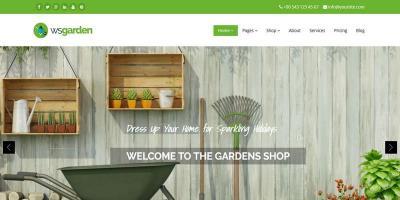 WS Garden - Responsive Gardening Drupal Theme