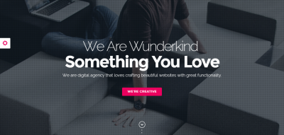 Wunderkind - One Page Parallax Joomla Template