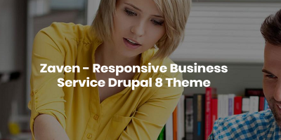 Zaven - Responsive Business Service Drupal 8.5 Theme