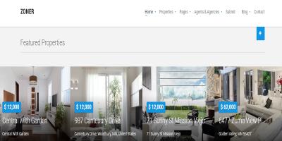 Zoner - Solution for Joomla Real Estate website