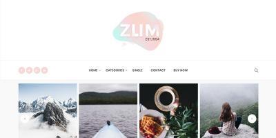 ZUM - Personal Blog WordPress Theme